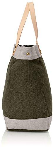 and Women's Kaki Bag Green Beige Cerises Le Shoulder Hobos 1 3t03 Temps des Alix XTXxqfw0