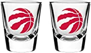 NBA Toronto Raptors Shot Glass, 2-Pack