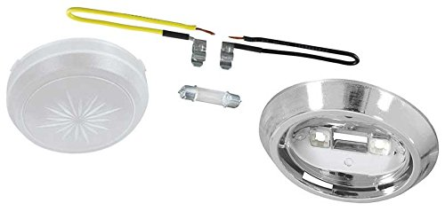 Dome Lamp Assembly (Base, Lens, Bulb & Wire Leads) Dome Lamp Assembly