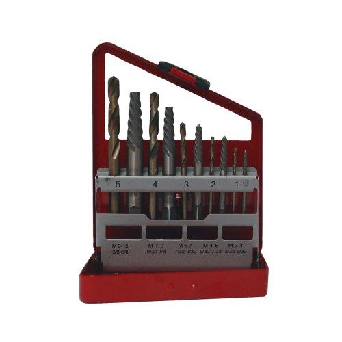Grip 11 pc Screw Extractor Set