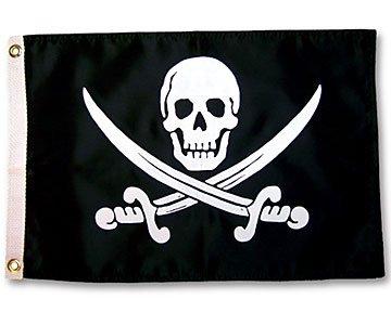 Nylon Pirate Flag - 1