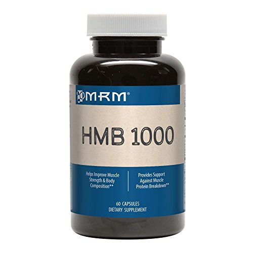 MRM - HMB 1000,  Muscle Maintenance, Helps Improve Muscle Strength and Body Composition (60 Count)