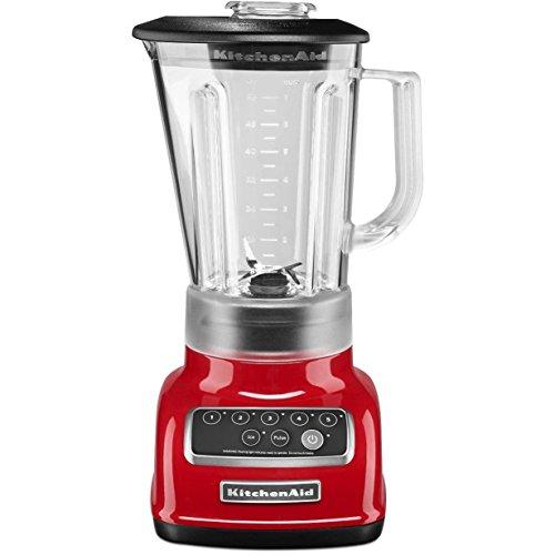 kitchen aid red blender - 4