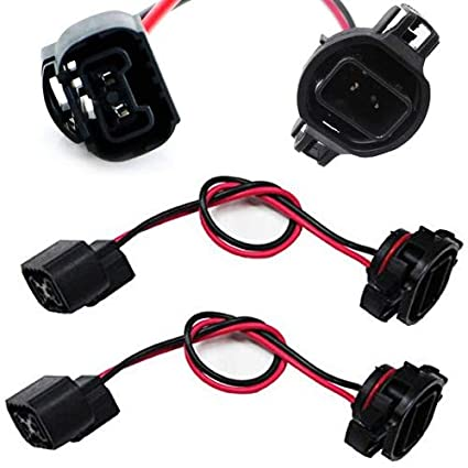 2010 ford edge fog light wiring harness wiring diagram database Pontiac G6 Low Beam Harness amazon com ijdmtoy (2) 5202 h16 extension wire harness sockets for dodge fog light wiring harness 2010 ford edge fog light wiring harness