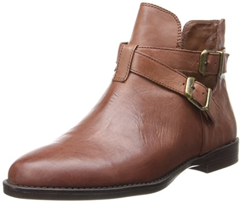 Bella Vita Women's Raine Leather Boot - Dark Tan Leather ...