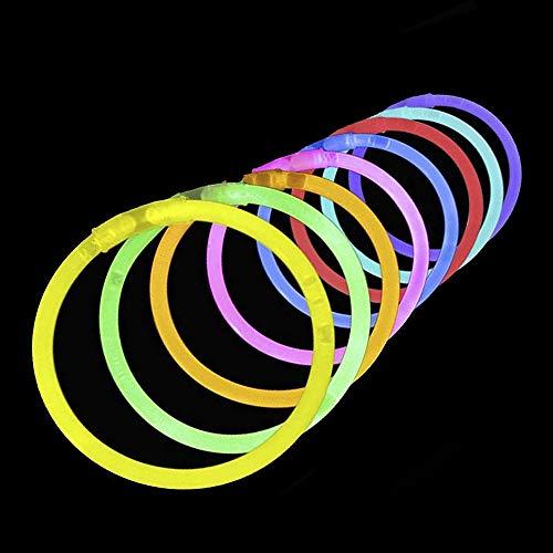 Lumistick 100 Count Necklace Glow Sticks - 10