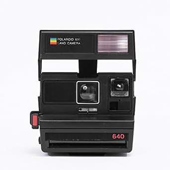 Impossible Polaroid 600 Square Black Camera