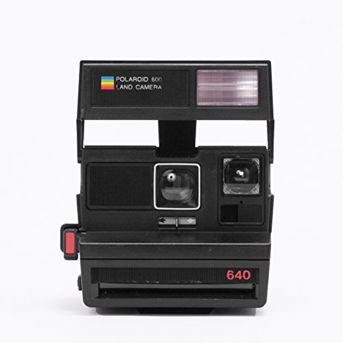 Polaroid Originals 4723 Polaroid 600 Camera, Flash, Black