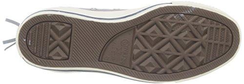 Converse Chuck Taylor Wash Tri Zip - Zapatillas de Deporte de canvas Unisex gris - gris