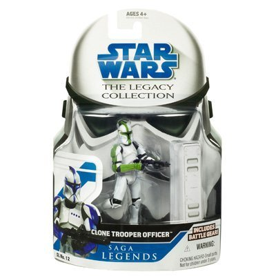Green Clone - Star Wars Legacy Collection Green Clone Trooper Officer