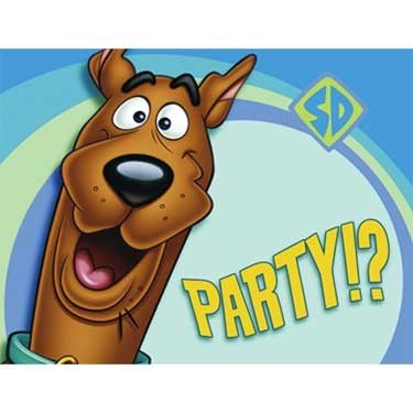 Scooby Doo Party Invitations 8 Pack (Scooby Doo Party Invitations)