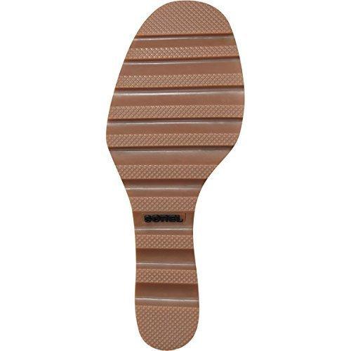 SOREL Womens Lea Wedge Boot, Camel Brown, 8 B(M) US