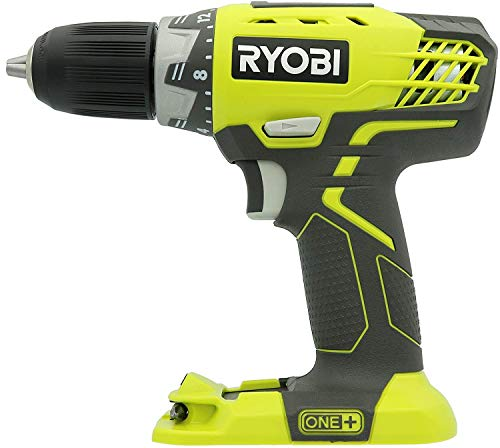 Ryobi 18 Volt 1/2″ Inch Cordless Drill With Led Light – P208B – (Bulk Packaged)(Tool Only)