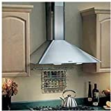 Broan RM503604 Elite Rangemaster Wall-Mounted Chimney Hood, 35-7/16-Inch, Stainless Steel