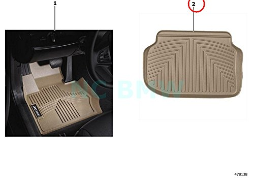 bmw all weather floor liners x5 - 6