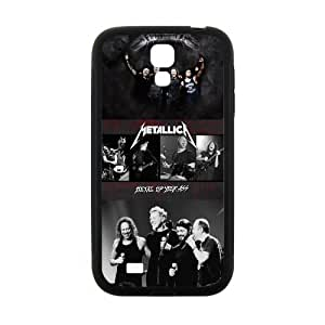 Zyhome Galaxy S4 Modern Famous Rock Band Metallica Checked Pattern Case Cover for SamSung Galaxy S4 I9500 (Laser Technology)