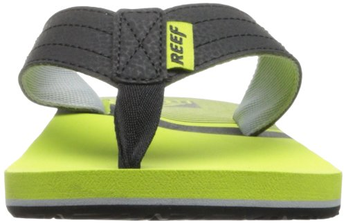 REEF-TONGS HOMME-QUENCHA PRINTS-LINE-YELLOW/47-US 14 EUR