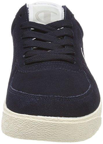 Champion Herren Low Cut Shoe Venice Suede Sneaker Blau (New Navy BS501)