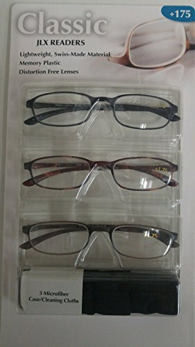 0e82f49be1a5 Design optics 3-pack reading glasses the best Amazon price in ...