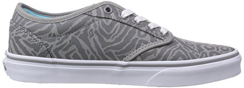F6l Sneakers Damen Vans ATWOOD Gray W Grau Animal wpTAE0q