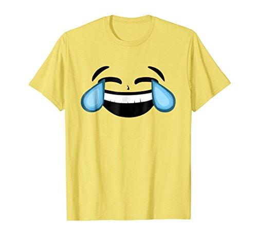 Emoji Cute Face Yellow T Shirt Halloween Group Costume Gifts