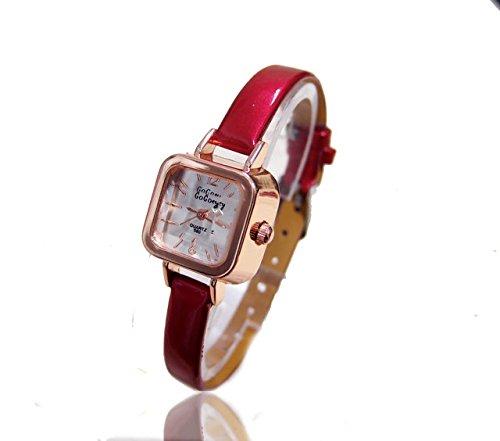 Venta al por mayor reloj de cristal Gogoey de lujo las mujeres Ladies Fashion vestido cuarzo relojes de pulsera horas reloj mujer Go079 QxQ: Amazon.es: ...