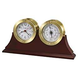 Howard Miller 645-597 South Harbor Weather & Maritime Table Clock