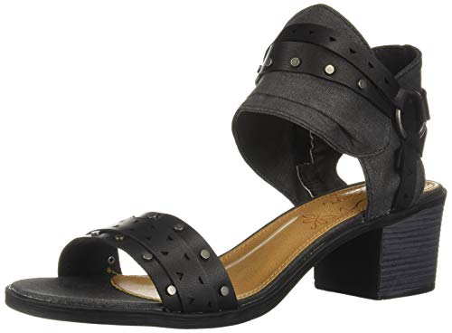 Sugar Women's Hey Now Casual Chop Out Block Heel Sandal, for sale  Delivered anywhere in USA