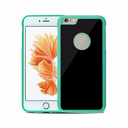 Anti Gravity Case per Apple Iphone 7 4.7 Pollice Smart Slim Case Book Cover Stand Flip (Verde) NUOVO