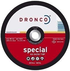 Dronco POLISPEED Polierrad 125 x 22,23mm Polieren für Winkelschleifer