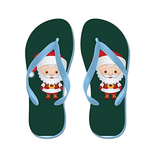 Virkelig Teague Menns Jul Cuties Julenissen Gummi Flip Flops Sandaler Caribbean Blue
