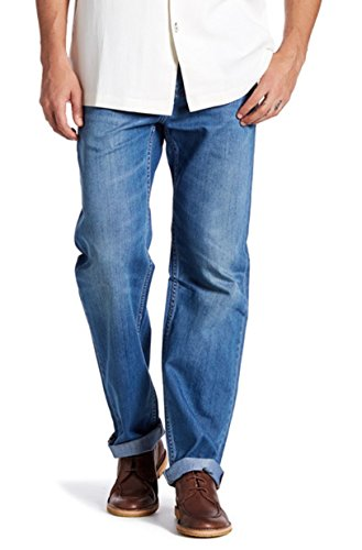 (Tommy Bahama Stefano Standard Straight Leg Men's Blue Denim Jeans (30x32))