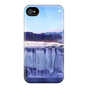 Fashion NanDTXh6387pNRih For Apple Iphone 5/5S Case Cover (ice Falls)