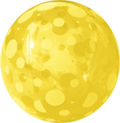 FIELDOOR beach ball 51cm yellow (polka dots) (japan import) by composite