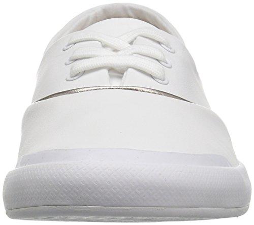 Lacoste Women's Lancelle 3 Eye 316 1 Spw Fashion Sneaker, White, 8 M US