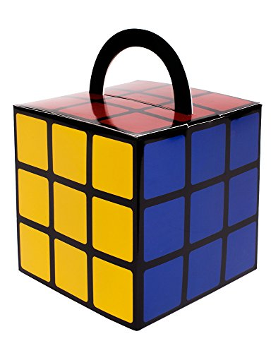 Large Rubiks Cube - Rubik's Cube Favor Box - With Handles - Large - 5 Pack