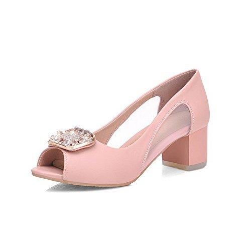 Inconnu Sandales Femme 1To9 Pour 32 EU MJS01128 5 Rose qrgRqw