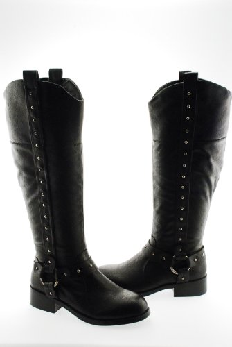 Black International Model Boot Concepts Women's qTrI1TUw