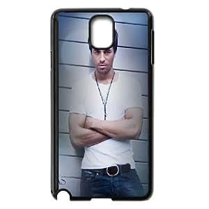 Enrique Iglesias Samsung Galaxy Note 3 Cell Phone Case Black lfcc