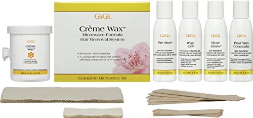 Gigi Creme Wax Microwave Kit, 16 Ounce by Gigi 0135