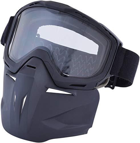 AFX 2601-2461 Bounty Hunter Googles and Mask, Primary Color: Black, Distinct Name: Black, Gender: Mens/Unisex, Size: OSFM