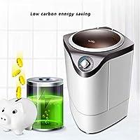 Lavadora portátil semiautomática, compacta Mini Lavadora ...