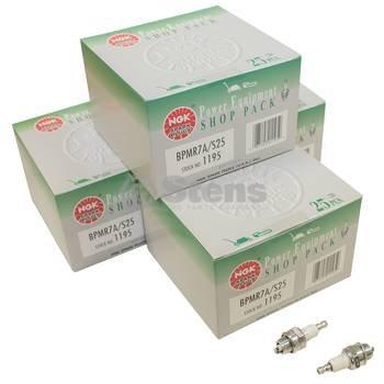 NGK 1195 BPMR7A S25 Spark Plug Shop Pack (25 Spark Plugs) - Spark Plug Pack