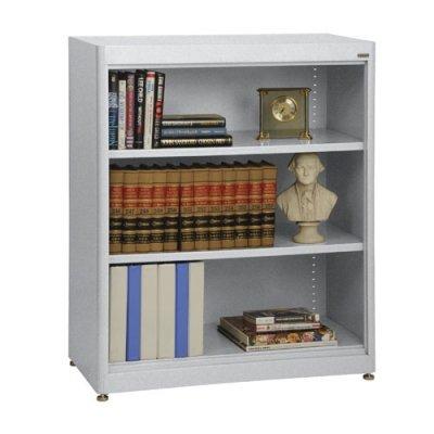 Sandusky Lee BA2R361842-MG Elite Series Radius Edge Welded Bookcase, 18