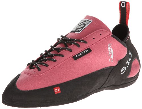 Five Ten Men's Anasazi Lace Climbing Shoe,The Pink,15 D US