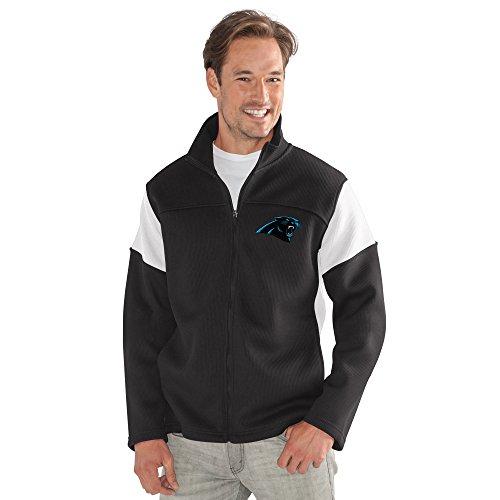 - G-III Sports by Carl Banks Adult Men Halftime Full Zip Jacket, Black, Large