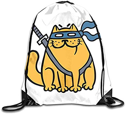 ZMYGH Ninja Cat Duvet Cover Set Queen Size, Cartoon Design ...