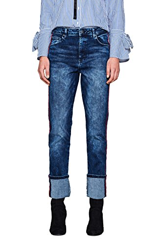 Straight Esprit by 902 Blue para edc Wash Medium Mujer Azul Vaqueros d5tnxxq