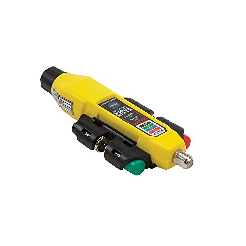 Coax Tester Tracer Mapper with Remote Kit, Test up to 4 Locations, Explorer 2 Klein Tools VDV512-101 by Klein Tools (Image #2)