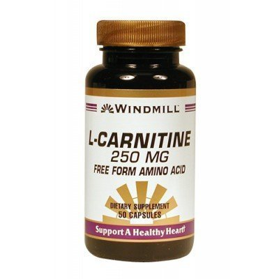 WINDMILL L-CARNITINE 250MG 454 50 CAPSULES by Windmill